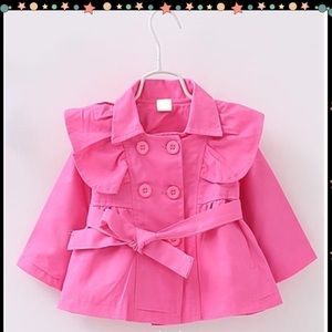 Other - Pink Trench Coat
